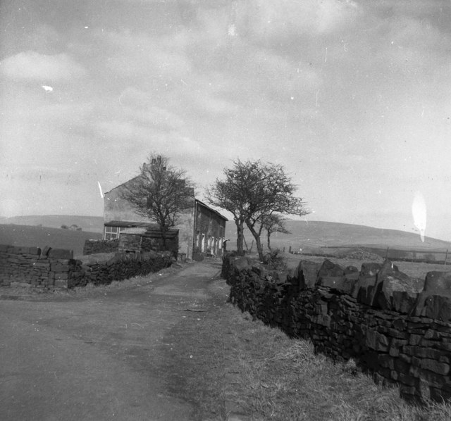 Shaw Lane Cottages, near Hollingworth Lake, Lancashire