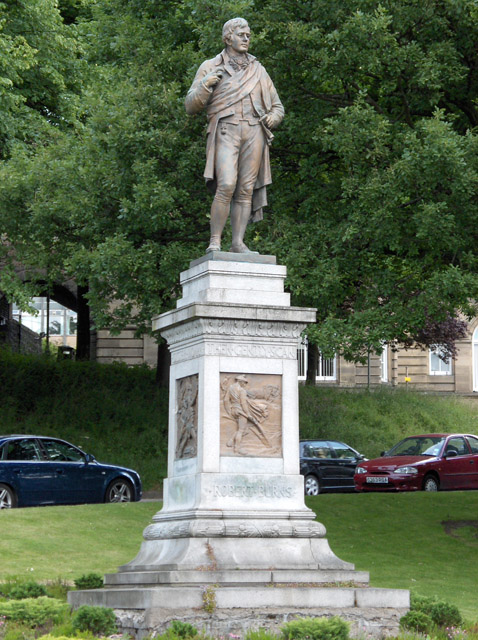 Robert Burns statue, Stirling