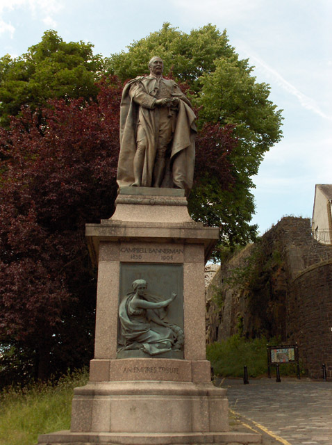 Campbell Bannerman statue, Stirling
