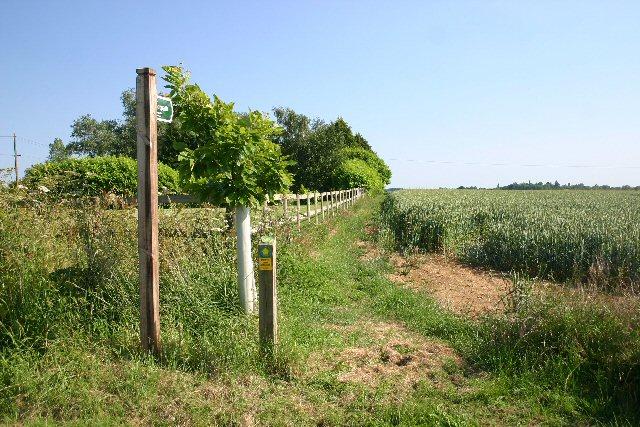 Footpath at Britton's Farm