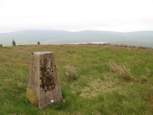 Hitteril Hill trig point S6135