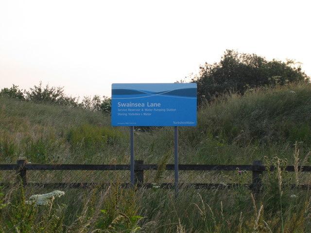 Swainsea Lane Service Reservoir & Pumping Station