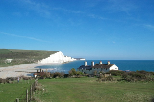 Coastguards Cottages, Cuckmere Haven © Graham Pritchard ...