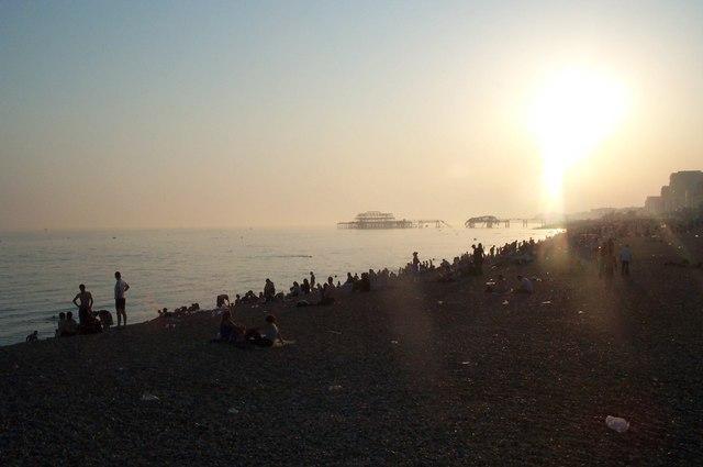 Brighton Beach, August 2003