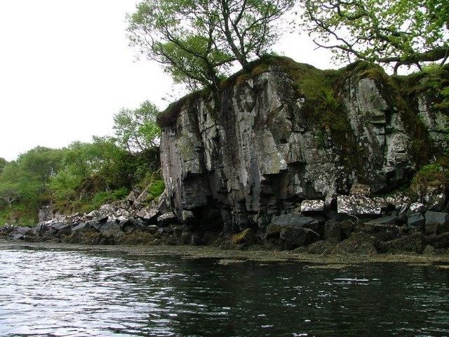 Crag, loch a' Chumhainn