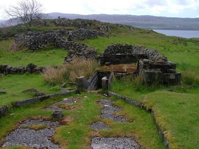 Sheep Wash, Near Burg Cottage