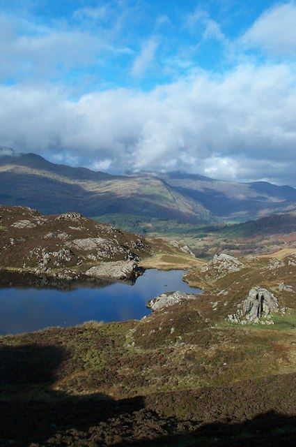 View from Cnicht, Snowdonia