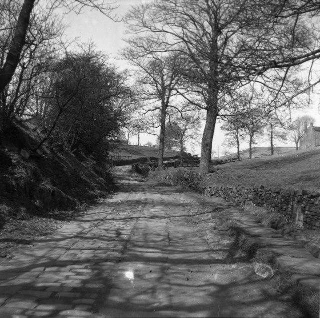 Woodhouse Lane, Norden, near Rochdale, Lancashire