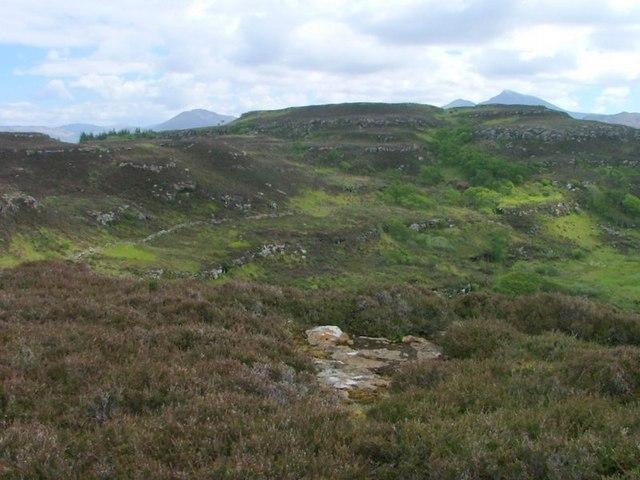 View to A' Chrannag