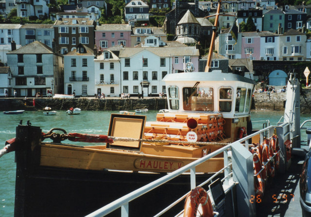 Lower ferry tug, Dartmouth