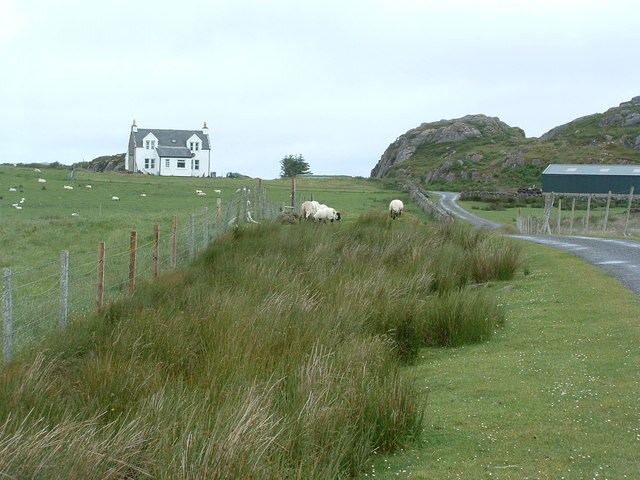 Knockvologan house