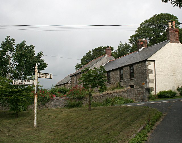Houses at Seaureaugh Mill