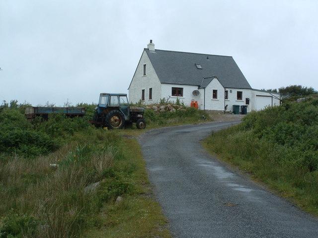 Burn Brae farmhouse