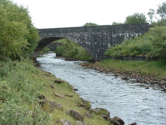 Bridges over the Beach river