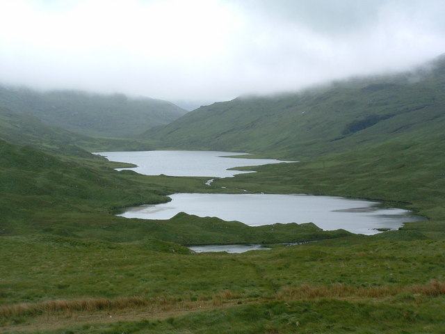 Loch an Ellen and Loch Airdeglais