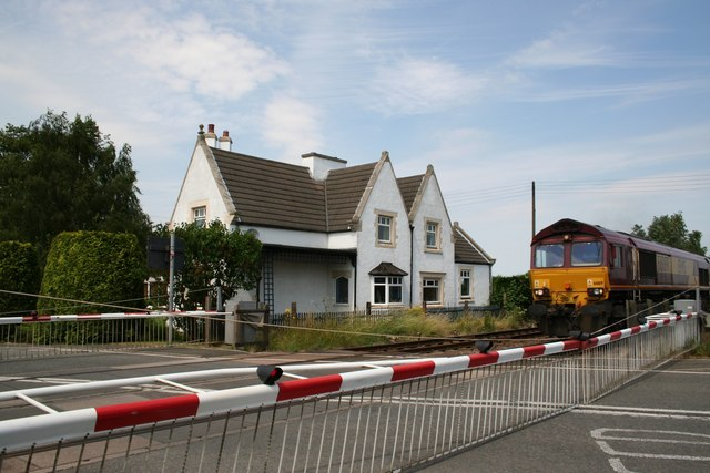 Reepham level crossing
