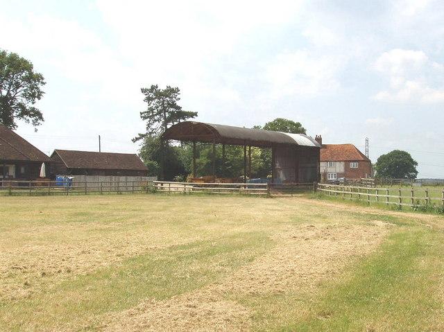 Hammondshall farm, near Hunt's Green