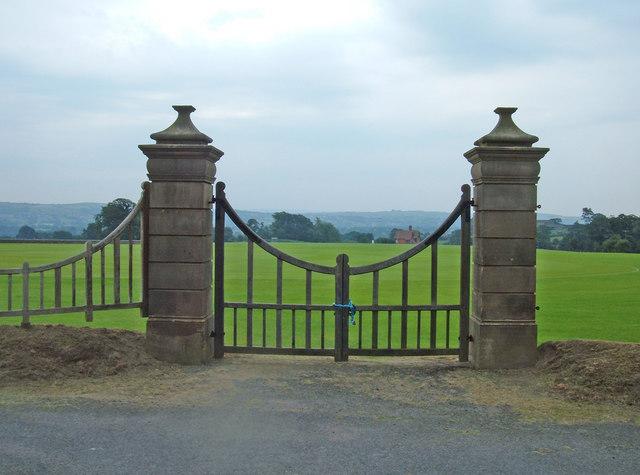 Stonyhurst College cricket field