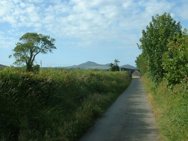 Lane near Efailnewydd