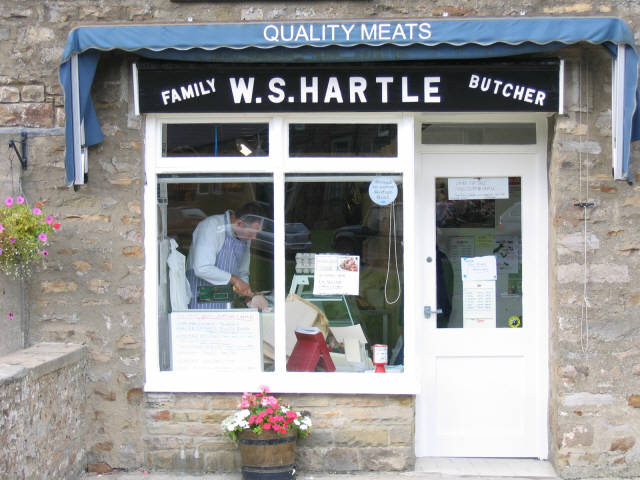 W S Hartle butchers