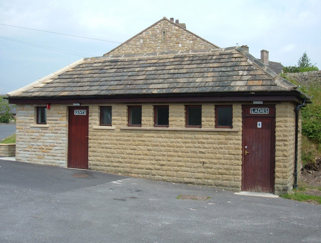 Public toilets, Hurst Green