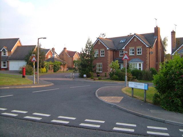 Queen Ethelburga's Park, Penny Pot Lane