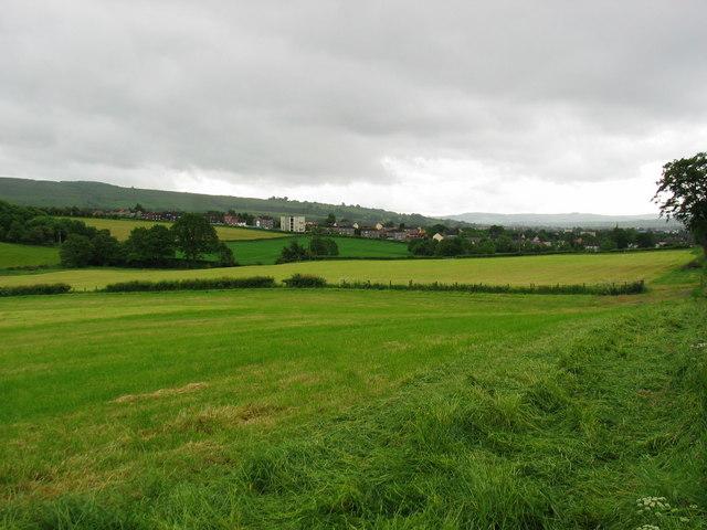 Looking to Mill of Haldane near Balloch.