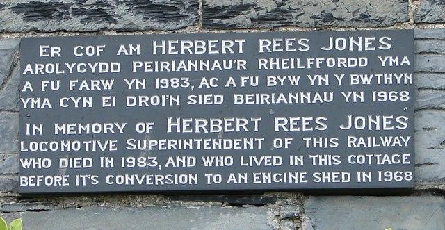Herbert Rees Jones, Talyllyn Railway