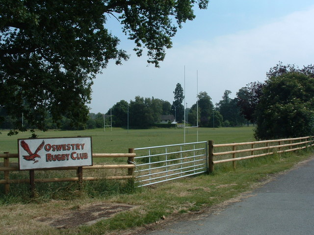 Oswestry Rugby Club Fields