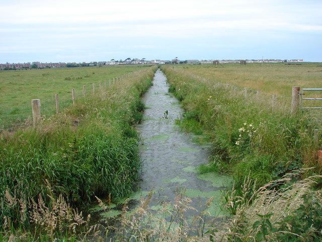 Drainage Channel Near Tywyn