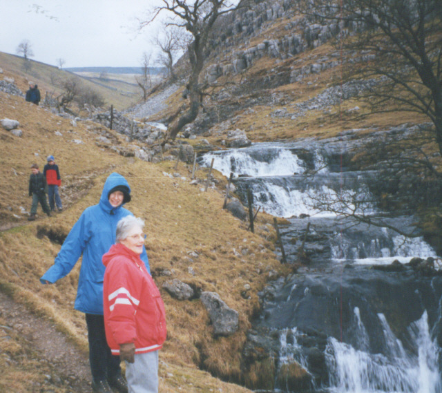Dowber Gill waterfalls