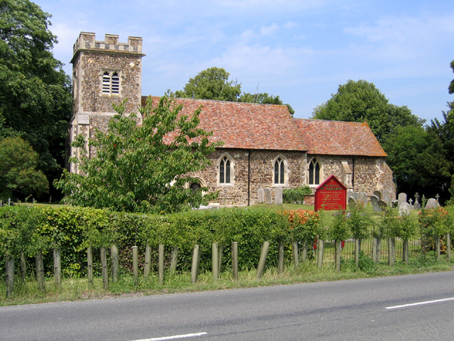 Parish church, Higham Gobion, Beds