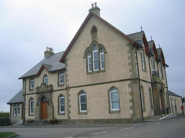 Lochmaddy Sheriff Court House
