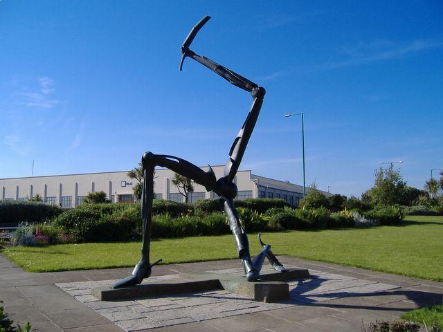 The Three Legs of Man, Ronaldsway Airport