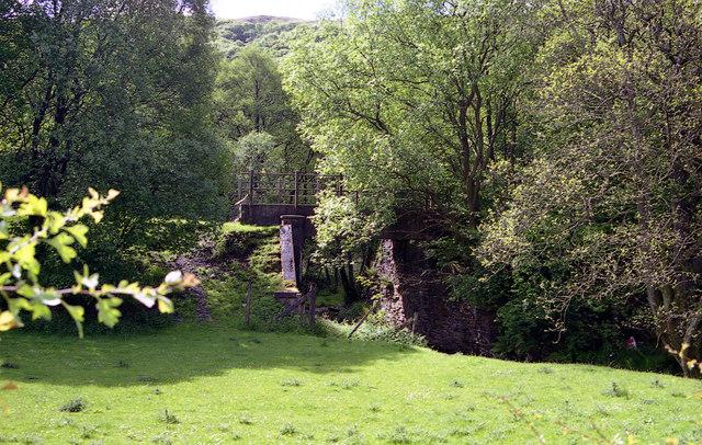 Railway Bridge, Ty-Coch, Mid-Wales Railway
