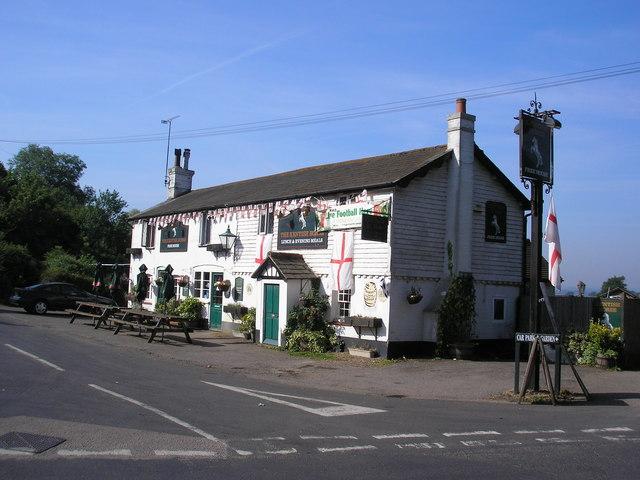 The 'Kentish Horse', Markbeech, Kent