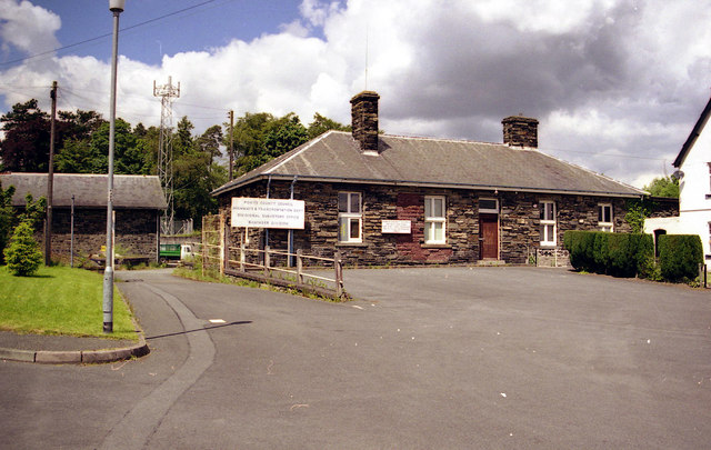 Station Buildings, Rhayader