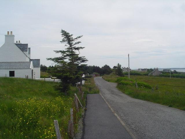 Gress village road, East loop