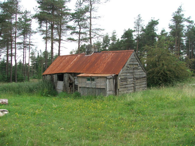 Shooting House in Cropton Forest.