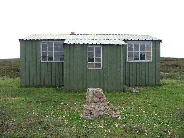 Shooting Hut on Wheeldale Moor.