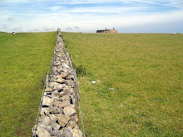 Fields near Scarlett, Isle of Man