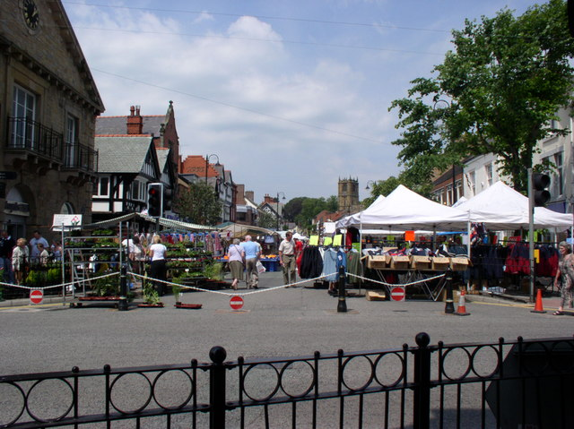 Market Day in Mold