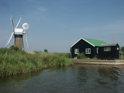 St Benet's Level Drainage Mill