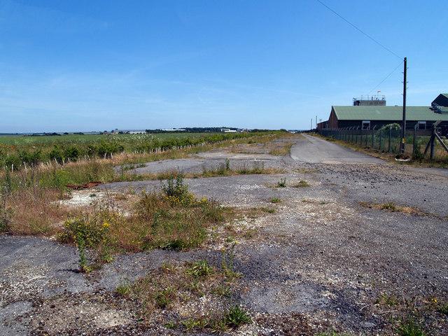 RAF Elsham Wolds - Old Runway