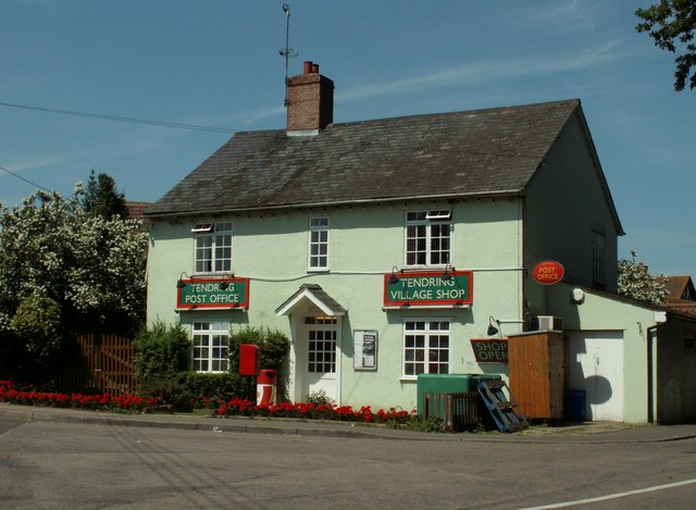 Village Shop & Post Office, Tendring Green, Essex