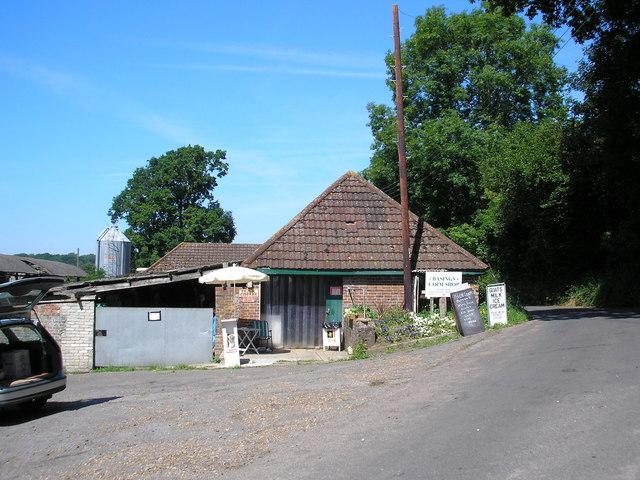 Basing's Farm Shop, near Cowden, Kent