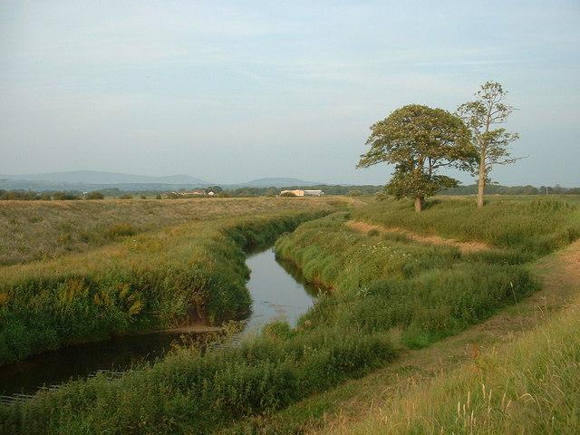 River Brock near St Michael's