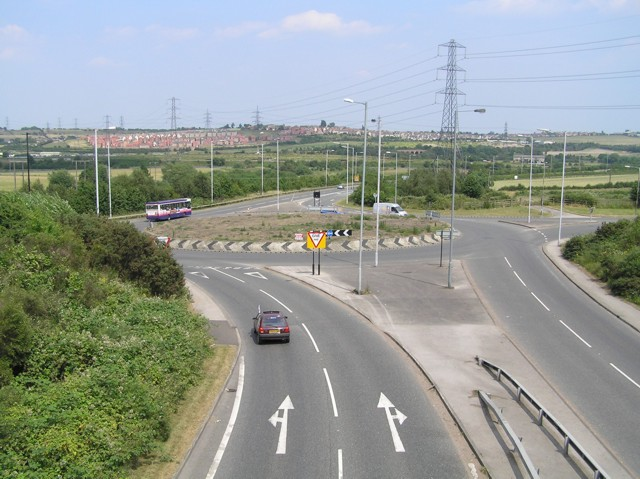 View towards Aston