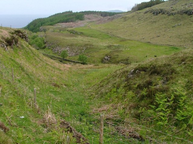 Small Valley Looking Towards Ardmore Forest