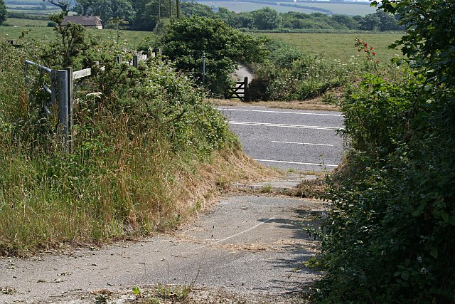 Minor Road Cut by the new Bypass